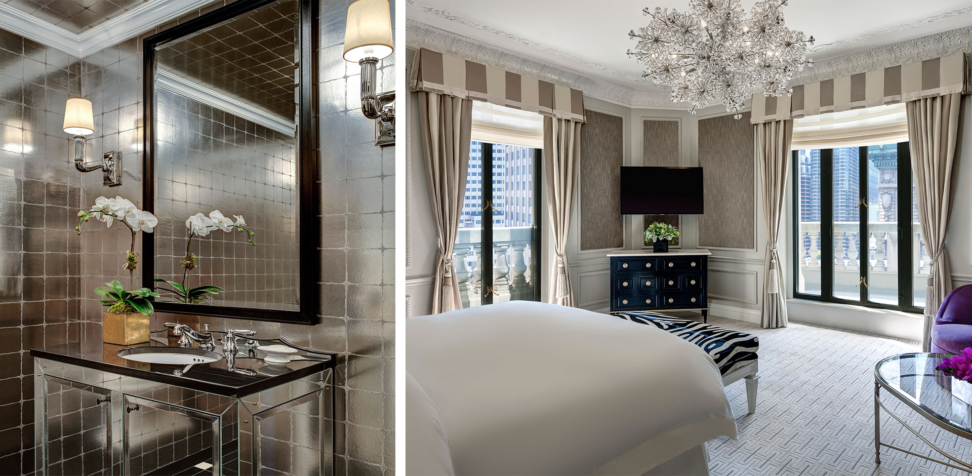 St Regis, New York - Presidential Powder Room and Bedroom