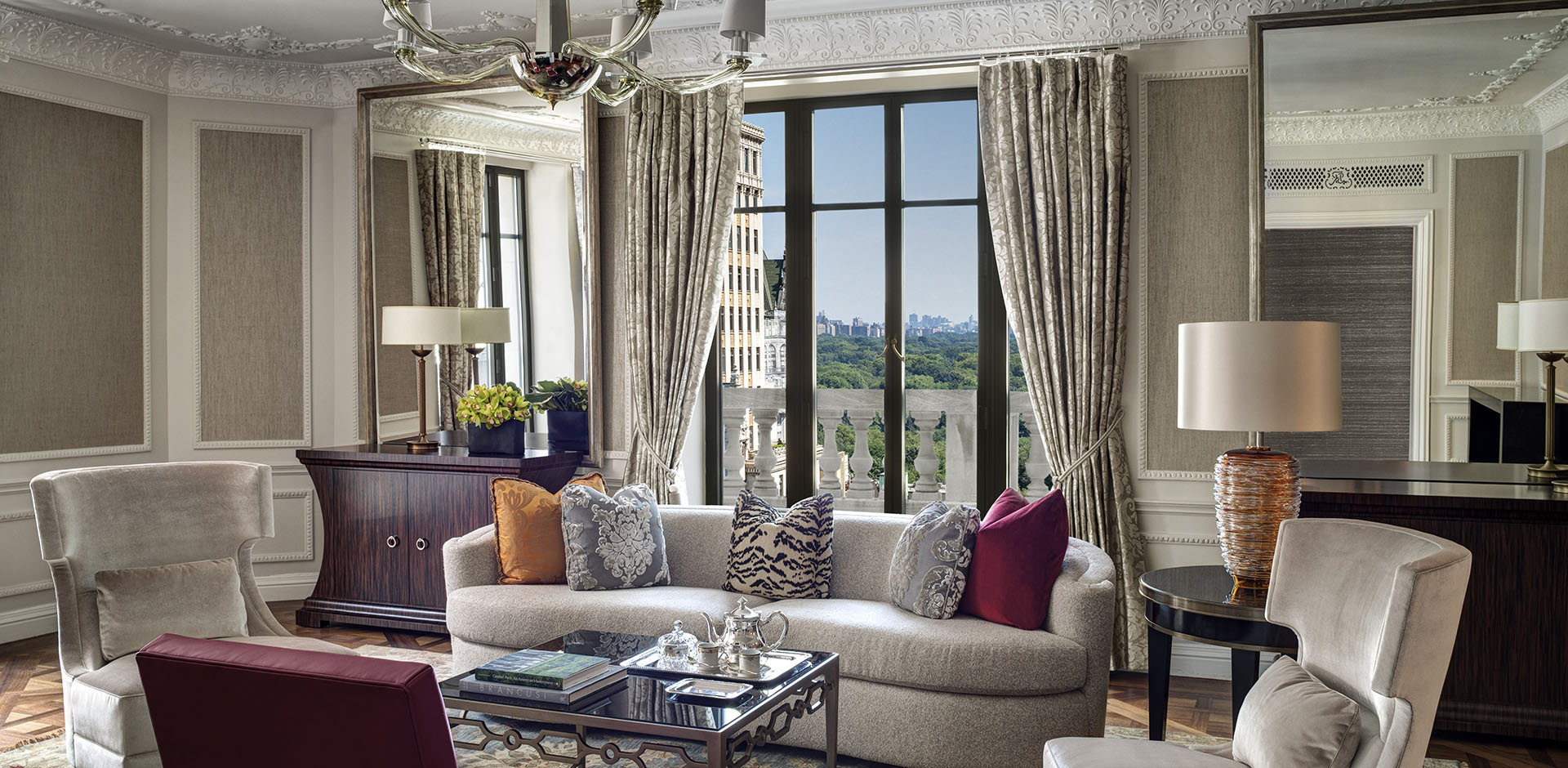 St Regis, New York - Presidential Living Room