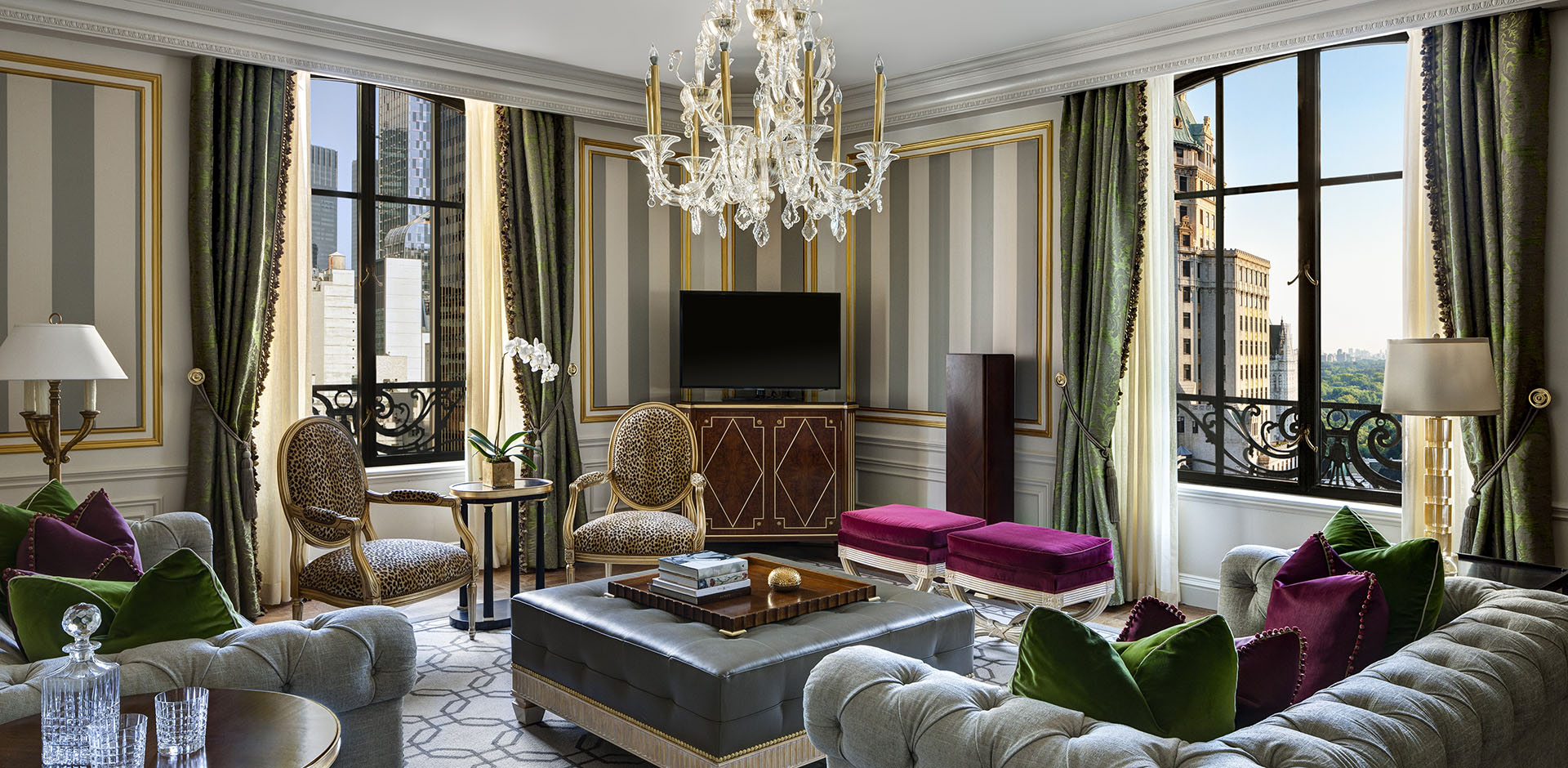St Regis, New York - Royal Living Room